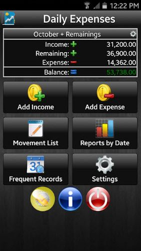 Download Daily expenses 2 for Android for free. Apps for phones and tablets.