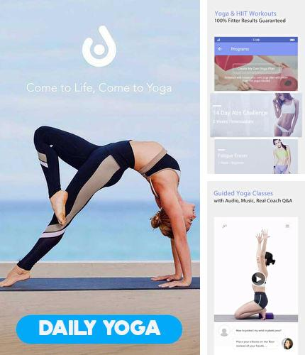 Besides Keep WiFi Android program you can download Daily yoga for Android phone or tablet for free.