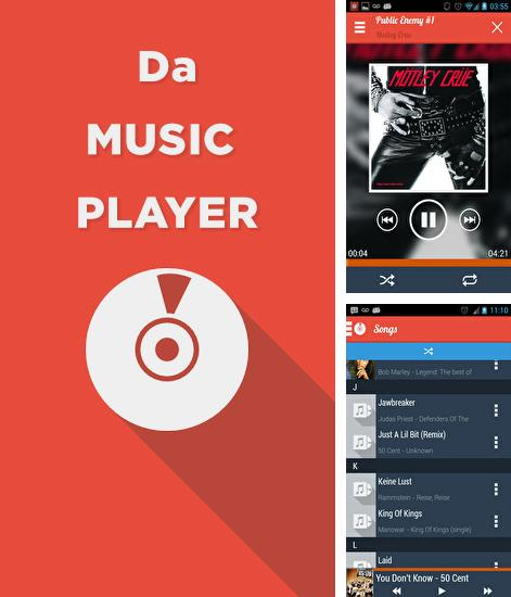 Besides IP Track Android program you can download Da: Music Player for Android phone or tablet for free.