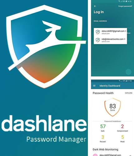 Download Dashlane password manager for Android phones and tablets.