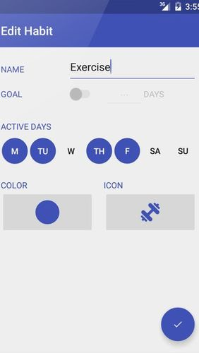 Day by Day: Habit tracker app for Android, download programs for phones and tablets for free.