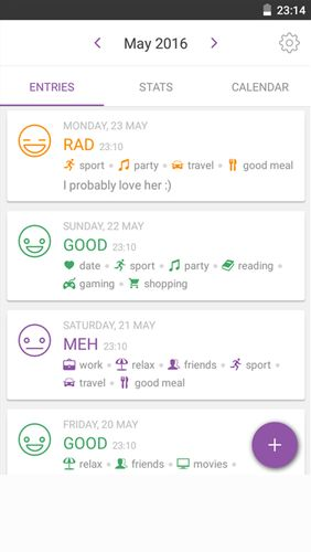 Download Daylio - Diary, journal, mood tracker for Android for free. Apps for phones and tablets.