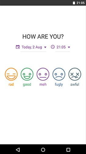 Daylio - Diary, journal, mood tracker app for Android, download programs for phones and tablets for free.
