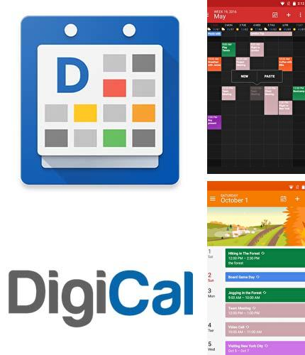 Download DigiCal calendar agenda for Android phones and tablets.