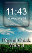 Download Digital Clock Widget for Android - best program for phone and tablet.