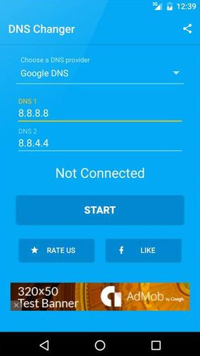 Download DNS changer for Android for free. Apps for phones and tablets.