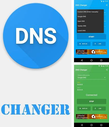 Download DNS changer for Android phones and tablets.