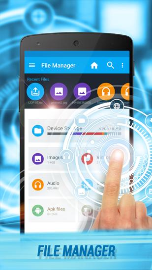 Download Manager app for Android, download programs for phones and tablets for free.
