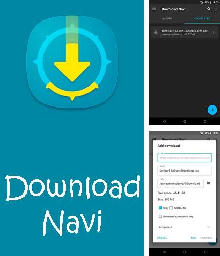 Besides Remindee - Create reminders Android program you can download Download Navi - Download manager for Android phone or tablet for free.