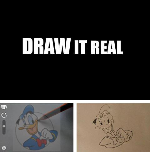 Besides Aviary Android program you can download Draw It Real for Android phone or tablet for free.