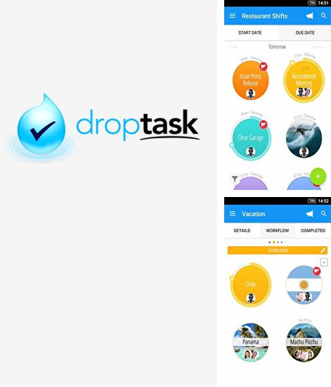 Besides InstaLogo: Logo creator Android program you can download DropTask: Visual To Do List for Android phone or tablet for free.