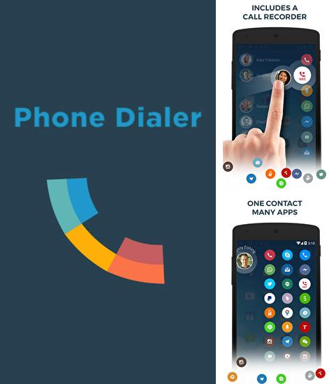 Besides Skype qik Android program you can download Drupe: Contacts and Phone Dialer for Android phone or tablet for free.