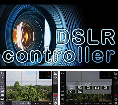 Besides Соbо: Launcher Android program you can download DSLR controller for Android phone or tablet for free.