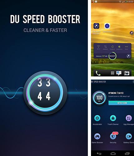 Besides Laconia Shuffle Android program you can download DU speed booster for Android phone or tablet for free.