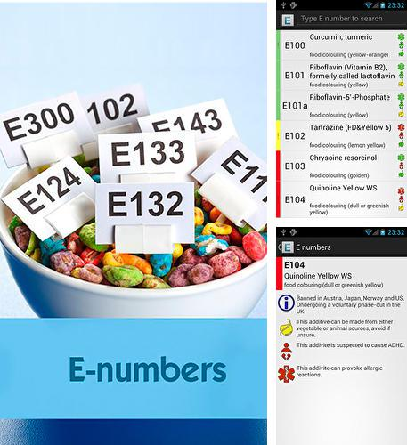 Besides Moto Android program you can download E Numbers for Android phone or tablet for free.