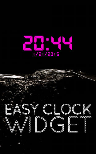 Easy clock widget
