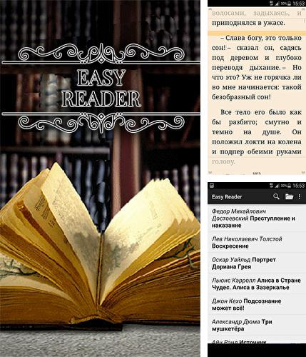 Besides Split-screen creator Android program you can download Easy reader for Android phone or tablet for free.