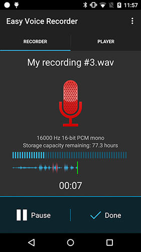 Download Easy voice recorder pro for Android for free. Apps for phones and tablets.