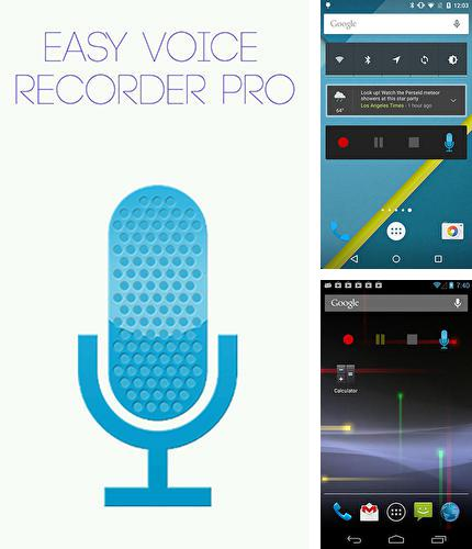 Besides Phone Locator Android program you can download Easy voice recorder pro for Android phone or tablet for free.