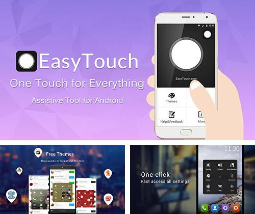Besides ClevNote - Notepad and checklist Android program you can download Easy touch for Android phone or tablet for free.