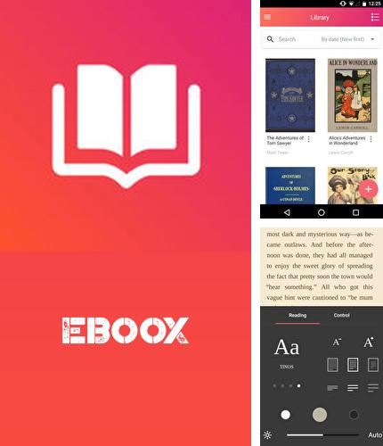 Besides Ex dialer Android program you can download eBoox: Book reader for Android phone or tablet for free.