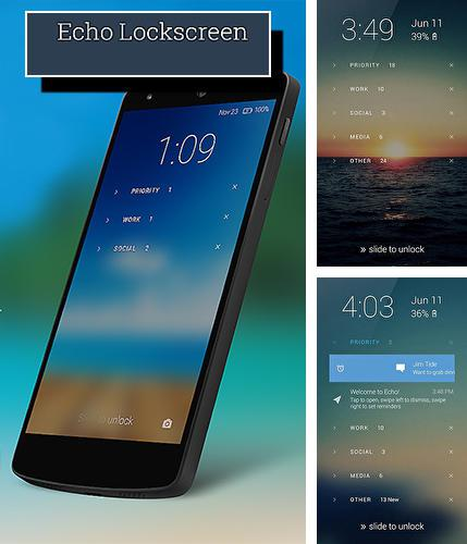Download Echo lockscreen for Android phones and tablets.