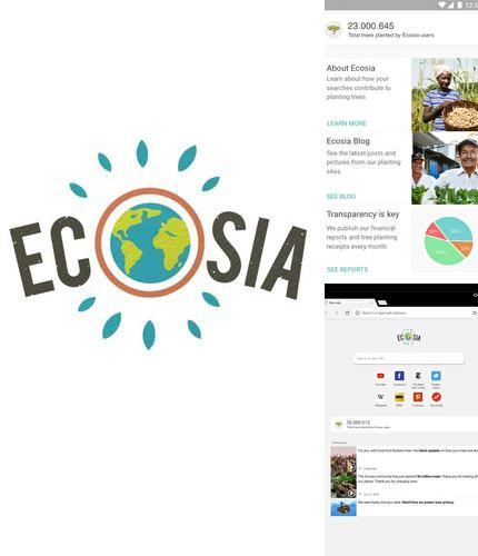 Besides Simple macro - Calorie counter Android program you can download Ecosia - Trees & privacy for Android phone or tablet for free.