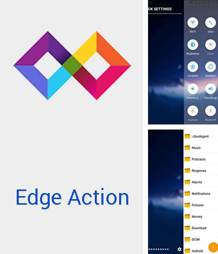 Edge action: Edge screen, sidebar launcher