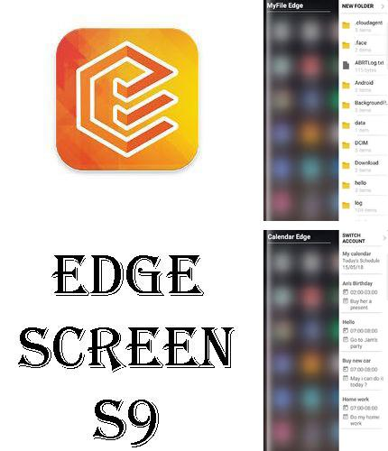 Download Edge screen S9 for Android phones and tablets.