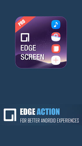 Edge screen: Sidebar launcher & edge music player