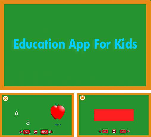 Además del programa Cold Launcher para Android, podrá descargar Education App For Kids para teléfono o tableta Android.