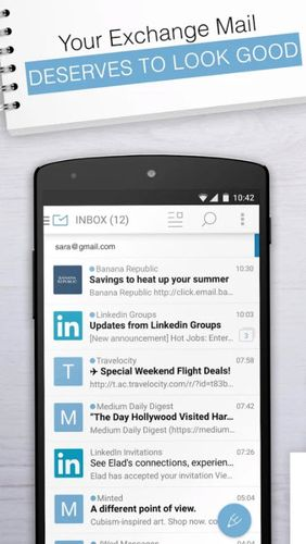Download Email exchange + by MailWise for Android for free. Apps for phones and tablets.
