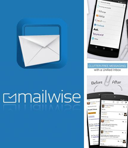 Besides Hola launcher Android program you can download Email exchange + by MailWise for Android phone or tablet for free.