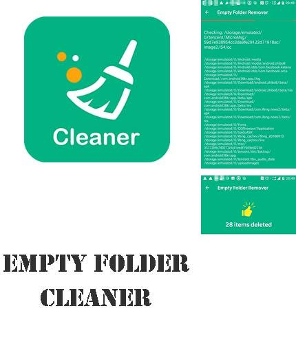 除了Flip calendar + widget Android程序可以下载Empty folder cleaner - Remove empty directories的Andr​​oid手机或平板电脑是免费的。