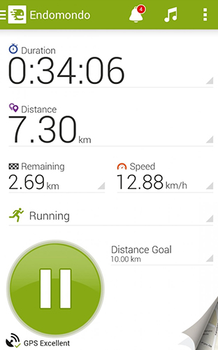 Endomondo app for Android, download programs for phones and tablets for free.
