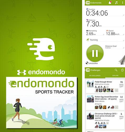Besides Audiobooks from Audible Android program you can download Endomondo for Android phone or tablet for free.