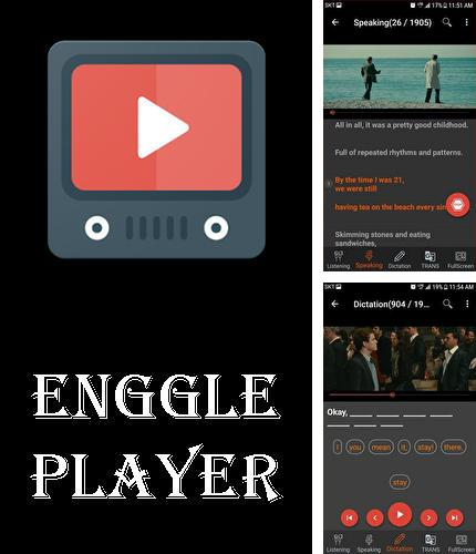 Além do programa Any player para Android, pode baixar grátis Enggle player - Learn English through movies para celular ou tablet em Android.