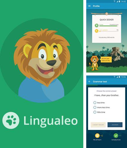Download English with Lingualeo for Android phones and tablets.