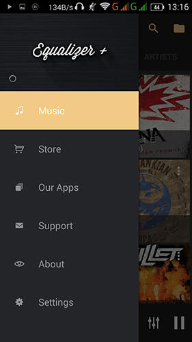 Скачати Equalizer: Music player booster для Андроїд.