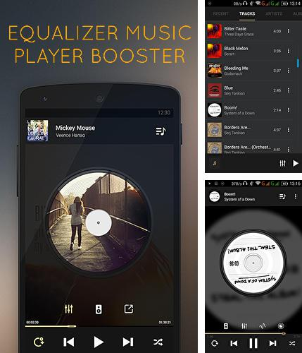 Además del programa Neverthink: The TV of the Internet para Android, podrá descargar Equalizer: Music player booster para teléfono o tableta Android.
