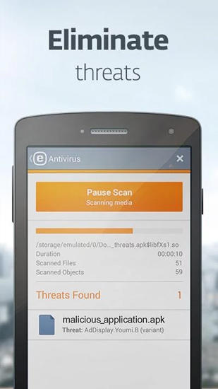 Ikarus: Mobile security app for Android, download programs for phones and tablets for free.