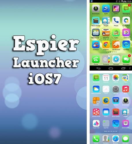 Download Espier launcher iOS7 for Android phones and tablets.