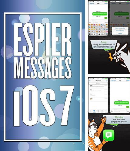 Besides MacroDroid Android program you can download Espier Messages iOS 7 for Android phone or tablet for free.