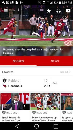 Download ESPN for Android for free. Apps for phones and tablets.