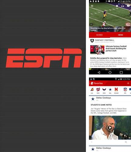 Download ESPN for Android phones and tablets.