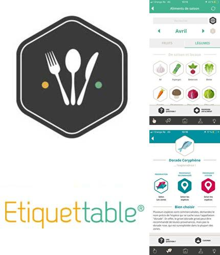 Besides MY photo editor: Filter & cutout collage Android program you can download Etiquettable for Android phone or tablet for free.