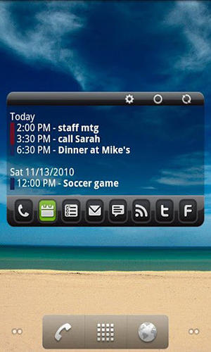 Screenshots of Sms scheduler program for Android phone or tablet.