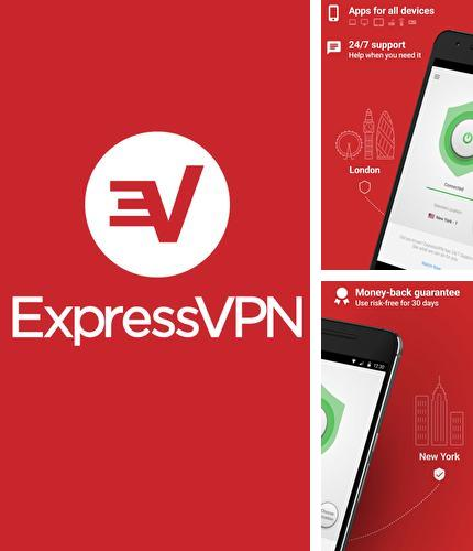 Besides Mock locations - Fake GPS path Android program you can download ExpressVPN - Best Android VPN for Android phone or tablet for free.