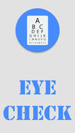 Téécharger Eye check - Sight test pour Android - le meilleur programme sur le portable et la tablette.