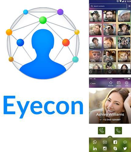 Descargar gratis Eyecon: Caller ID, calls, dialer & contacts book para Android. Apps para teléfonos y tabletas.